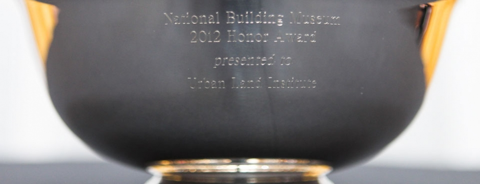 The 2012 Honor Award prize. Photo by Paul Moirgi.