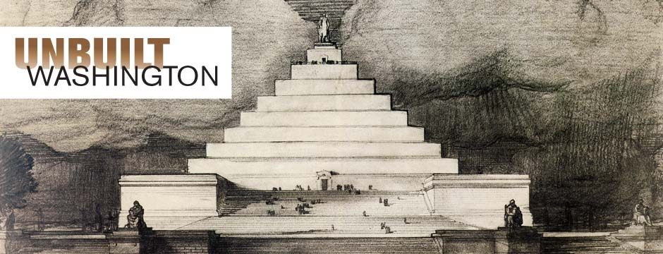 Lincoln Memorial. Proposal for the Lincoln Memorial by John Russell Pope, 1912. National Archives.